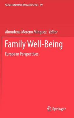 Family Well-Being: European Perspectives