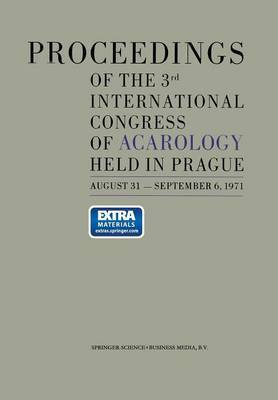 Proceedings of the 3rd International Congress of Acarology