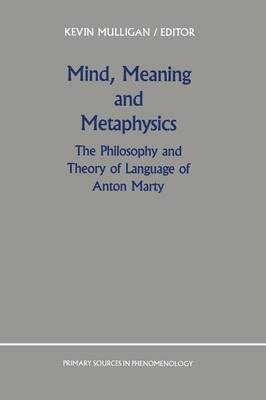 Mind, Meaning and Metaphysics: The Philosophy and Theory of Language of Anton Marty