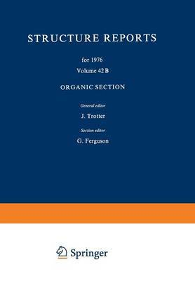 Structure Reports for 1976: Organic Section