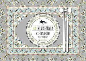 Chinese Patterns: Pepin Placemat Pad Vol. 2