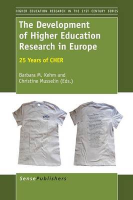 The Development of Higher Education Research in Europe: 25 Years of CHER