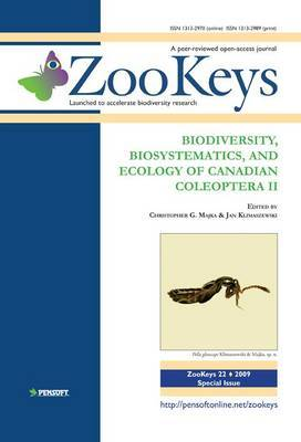 Biodiversity, Biosystematics, and Ecology of Canadian Coleoptera II