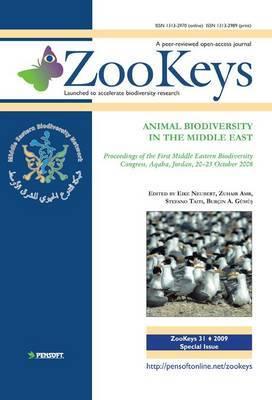 Animal Biodiversity in the Middle East: Proceedings of the First Middle Eastern Biodiversity Congress, Aqaba, Jordan, 20-23 October 2008