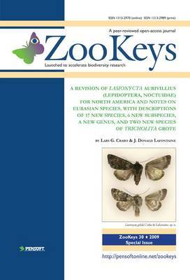 A Revision of Lasionycta Aurivillius (lepidoptera: Noctuidae) for North America and Notes on Eurasian Species: With Descriptions of 17 New Species, 6 New Subspecies, a New Genus, and Two New Species of Tricholita Grote