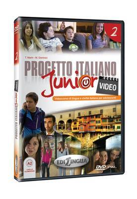 Progetto italiano junior: Video DVD 2 (Level A2)