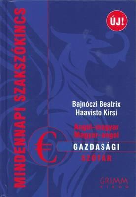 English-Hungarian & Hungarian Economics Dictionary
