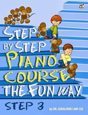 Step by Step Piano Course the Fun Way: No. 3