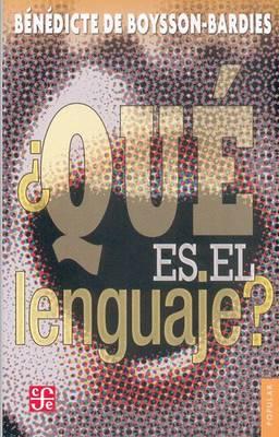 Que Es el Lenguaje?