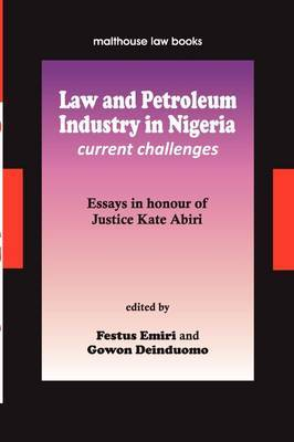 Law and Petroleum Industry in Nigeria