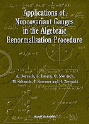 Applications of Noncovariant Gauges in the Algebraic Renormalization Procedure
