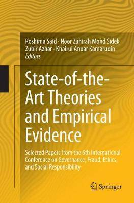 State-of-the-Art Theories and Empirical Evidence: Selected Papers from the  6th International Conference on Governance, Fraud, Ethics, and Social