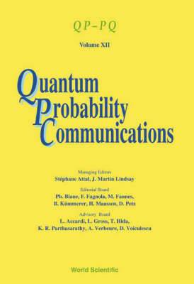 Quantum Probability Communications: Qp-pq - Volume Xii
