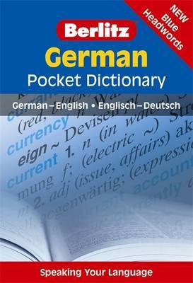 Berlitz Language: German Pocket Dictionary