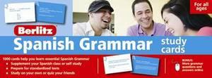 Berlitz: Spanish Grammar Study Cards