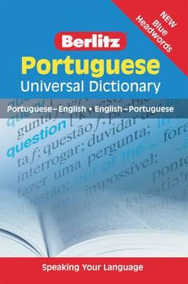 Berlitz: Portuguese Universal Dictionary: Portuguese-English, English-Portuguese