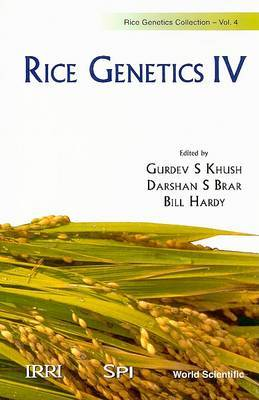 Rice Genetics Iv - Proceedings Of The Fourth International Rice Genetics Symposium