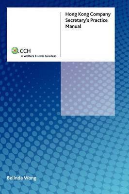 Hong Kong Company Secretary's Practice Manual