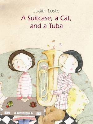 A Suitcase, a Cat and a Tuba