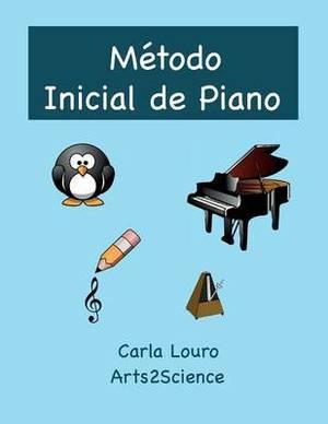 Metodo Inicial de Piano: Com Audio Gratuito