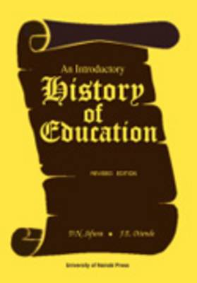 An Introductory History of Education