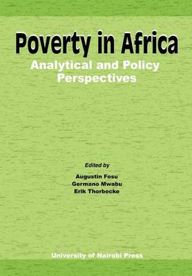 Poverty in Africa: Analytical and Policy Perspectives