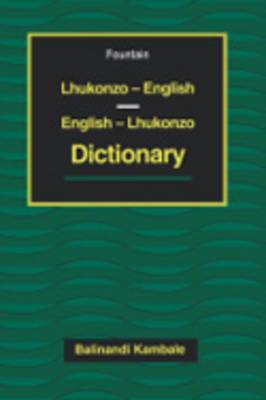 Lhukonzo-English/English-Lhukonzo Dictio