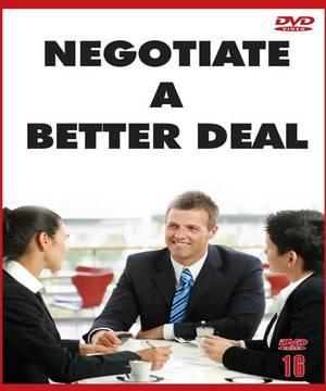 Negotiate A Better Deal