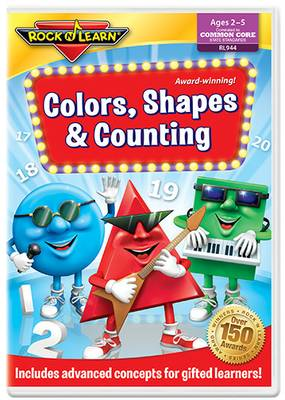 Rock 'N Learn: Color, Shapes &