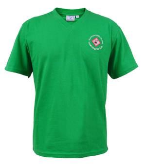 Green House V-Neck Shirt