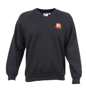 6th Form Black Sweat Shirt