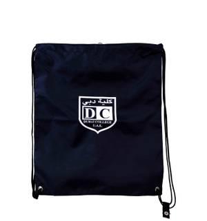 Navy String Bag