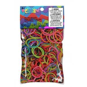 Rainbow Loom Rubber Band Skin Mixed Jelly