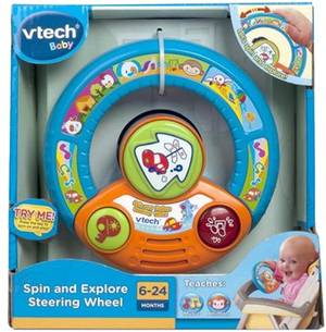 Vtech Spin And Explore Steering Wheel (Vt80-100803)
