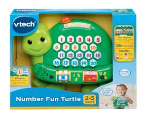 Vtech Number Fun Turtle. (Vt80-178103)