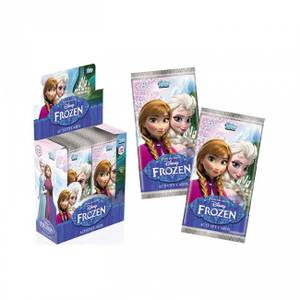 Tel009790 Topps Disney Frozen Activity Cards