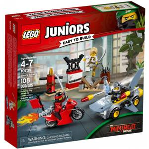 Lego Juniors Ninjago Shark Attack