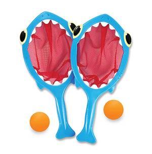 Melissa and Doug Spark Shark Toss & Catch Pool Toy