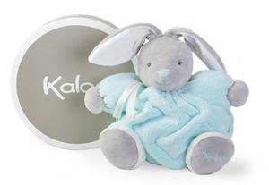 Kaloo Plume Chubby Rabbit Aqua - Medium