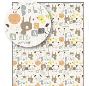 Rachel Ellen Gift Wrap - New Baby