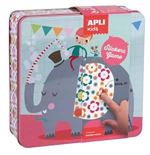Apli Stickers Game - Elephant