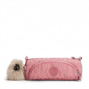 Kipling Cute Pencil Case - Pink Gold Drop
