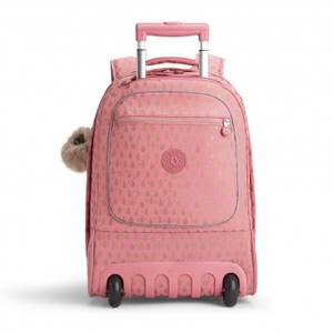 Kipling Clas Soobin Large Laptop Backpack - Pink Gold Drop