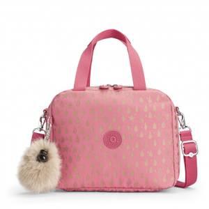 Kipling Miyo Lunchbox - Pink Gold Drop