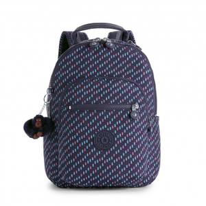 Kipling Seoul Go S Small Backpack - Blue Dash C