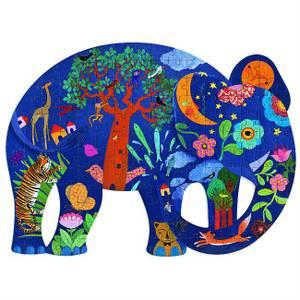 Djeco Elephant Puzzle - 150 Pcs