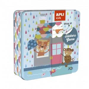 APLI Stickers Game - House