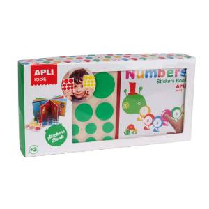 APLI My first book with educational stickers - Numbers
