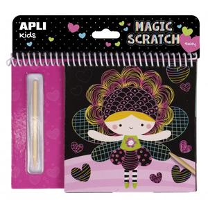 APLI Magic Scratch Pad - Fairies