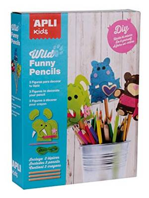 APLI Sewing Kit - Wild Funny Pencils